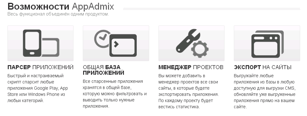 Зачем нужна программа appAdmix
