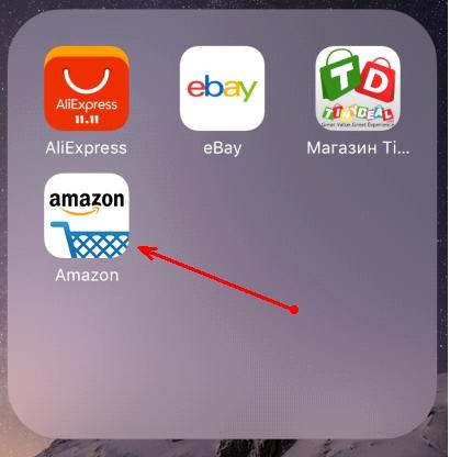 Приложение Amazon